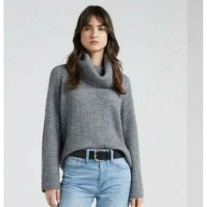 Point Sur J Crew Ribbed Turtleneck Sweater